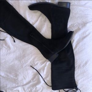 A New Day Suede High Knee Boots